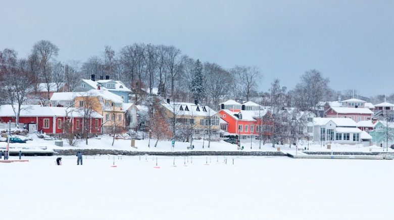 lite by i sverige utsatt för höga radonhalter