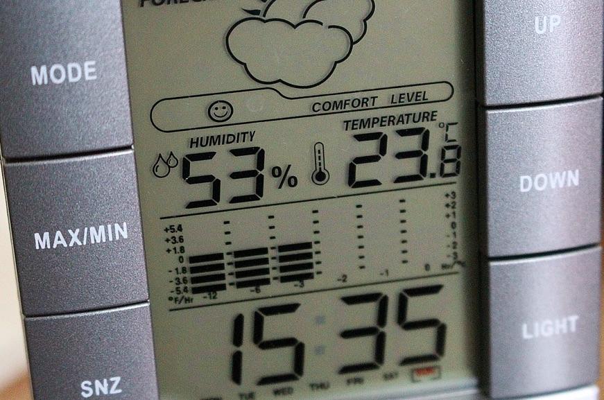 measuring humidity device